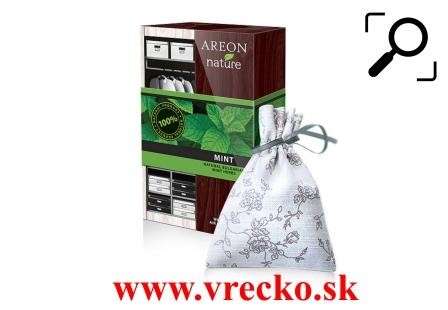 Vôňa do šatníku Areon Nature Premium Mint 25g