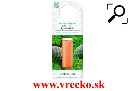 Vôňa do šatníku Areon Anti Moth Cedar gel