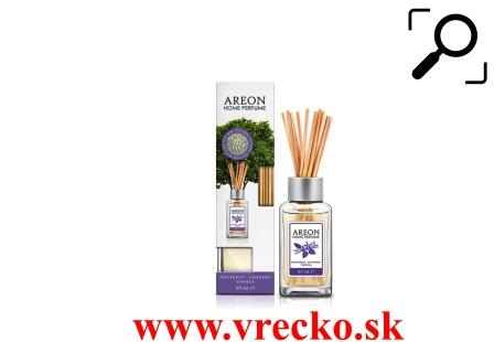 Vôňa do bytu Areon Home Perfum Sticks - Patchouli-Lavender Vanilla 85ml
